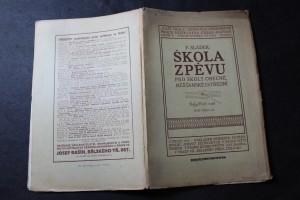 náhled knihy - Škola zpěvu pro školy obecné, měšťanské i střední