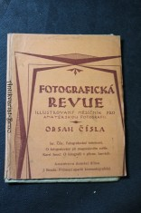 náhled knihy - Fotografická revue, podrobná sbírka předpisů ve fotografii užívaných roztoků