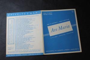 náhled knihy - Ave Maria. Píseň z filmu