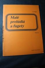 náhled knihy - Malé prelúdiá a fugety, klavír
