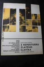 náhled knihy - Z repertoáru Zlatého slavíka (Zpívá Karel Gott) : 10 vybraných písní pro zpěv s doprovodem klavír