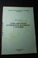 náhled knihy - Stavba amatérských astronomických Ďalekohľadov a fotokomor