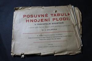 náhled knihy - Posuvné tabulky hnojení plodin v trávopolní soustavě