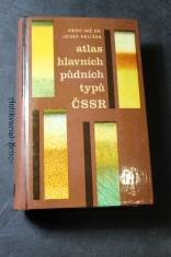 náhled knihy - Atlas hlavních půdních typů ČSSR