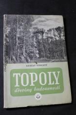 náhled knihy - Topoly, dřeviny budoucnosti