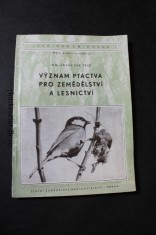 náhled knihy - Význam ptactva pro zemědělství a lesnictví