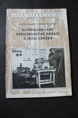 náhled knihy - Normalisované dřevorubecké nářadí a jeho údržba