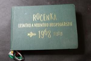 náhled knihy - Ročenka lesního a vodního hospodářství 1968
