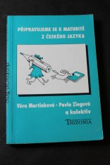 náhled knihy - Připravujeme se k maturitě z českého jazyka
