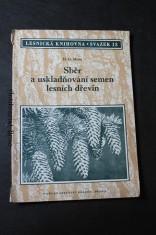 náhled knihy - Sběr a uskladňování semen lesních dřevin