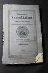 náhled knihy - Wissenschaftliche Studien und Mittheilungen aus dem Benediktinerorden-Orden mit besonderer Berücksichtigung der Ordensgeschichte und Statistik.