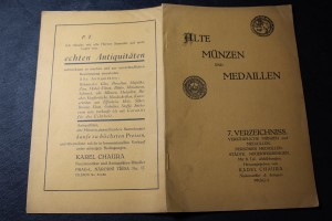 náhled knihy - Alte Münzen und Medaillen