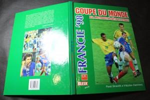 náhled knihy - Coupe du monde, Francie 1998, XVI. Mistrovství světa ve fotbale