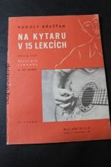 náhled knihy - Na kytaru v 15 lekcích swing-styl : škola pro samouky : se 105 obrázky