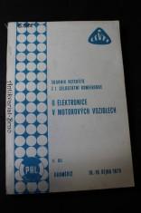 náhled knihy - O elektronice v motorových vozidlech, Sborník referátů z I. celostátní konference, II. díl