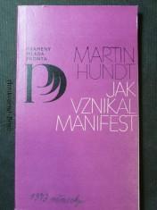 náhled knihy - Jak vznikl manifest