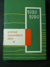 náhled knihy - Přehled nejnovějších dějin II. 1929-1939
