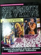 náhled knihy - Kniha: Suplementy ve výživě  Autor: Phil Embleton