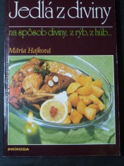 náhled knihy - Jedlá z diviny na spôsob diviny, z rýb, z húb
