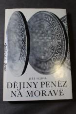 náhled knihy - Dějiny peněz na Moravě