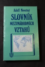 náhled knihy - Slovník mezinárodních vztahů : vojenskopolitické aspekty