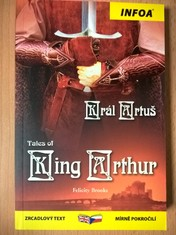 náhled knihy - Tales of King Arthur / Král Artuš