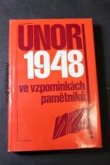 náhled knihy - Únor 1948 ve vzpomínkách pamětníků