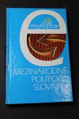náhled knihy - Mezinárodní politický slovník