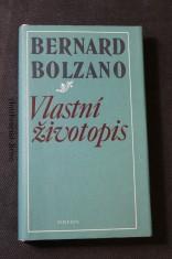 náhled knihy - Bernard Bolzano, vlastní životopis