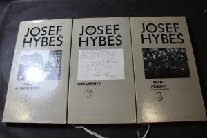 náhled knihy - Josef Hybeš 1 - Práce a vzpomínky, 2 - Dokumenty, 3 -Foto/přílohy