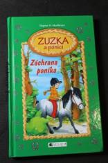 náhled knihy - Zuzka a poníci. Záchrana poníka