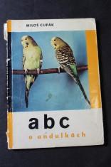 náhled knihy - ABC o andulkách