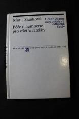 náhled knihy - Péče o nemocné pro ošetřovatelky : Učebnice pro zdravot. odb. školy obor ošetřovatelka