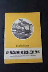 náhled knihy - Ze začátku našich železnic