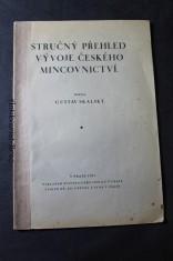 náhled knihy - Stručný přehled vývoje českého mincovnictví