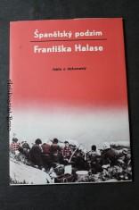 náhled knihy - Španělský podzim Františka Halase : fakta a dokumenty