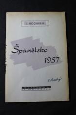 náhled knihy - Španělsko 1957
