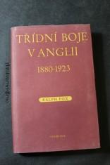 náhled knihy - Třídní boje v Anglii v období imperialismu 1880 - 1923