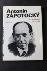 náhled knihy - Antonín Zápotocký ve vzpomínkách současníků
