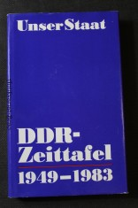 náhled knihy - Unser Staat DDR-Zeittafel 1949-1983