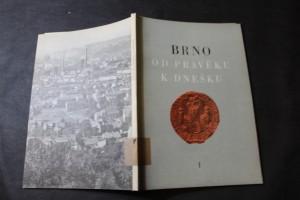 náhled knihy - Brno od pravěku k dnešku