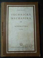 náhled knihy - Technická mechanika II  - kinematika (1. část)