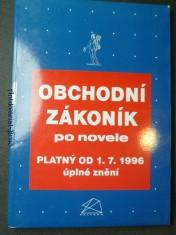 náhled knihy - Obchodní zákoník po novele (platný od 1.7. 1996, úplné znění)