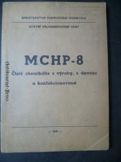 náhled knihy - MCHP-8. Čisté chemikálie z výroby, z dovozu a konfekcionované