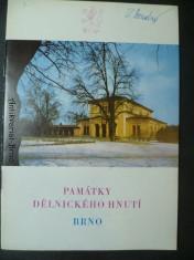 náhled knihy - Památky dělnického hnutí Brno