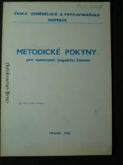 náhled knihy - Metodické pokyny pro kontrolně inspekční činnost