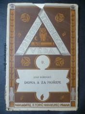 náhled knihy - Doma a za mořem