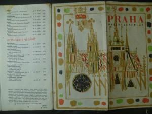 náhled knihy - Praha - orientační plán