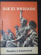 náhled knihy - Die XI. Brigade (Gewehre in Arbeiterhand)