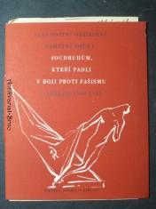 náhled knihy - Slavnostní odhalení pamětní desky soudruhům, kteří padli v boji proti fašismu v letech 1938-1945